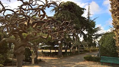 Chiaramonte Gulfi public garden