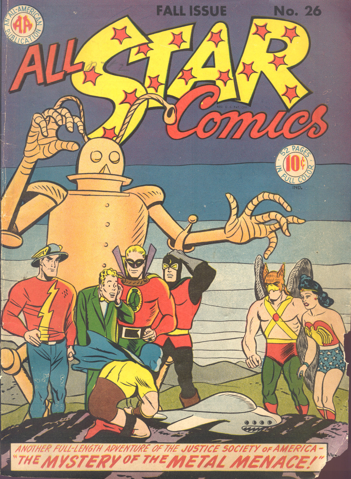 Read online All-Star Comics comic -  Issue #26 - 1