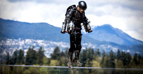 'Homem de Ferro' da vida real - super-traje voador do Iron Man já existe - Capa
