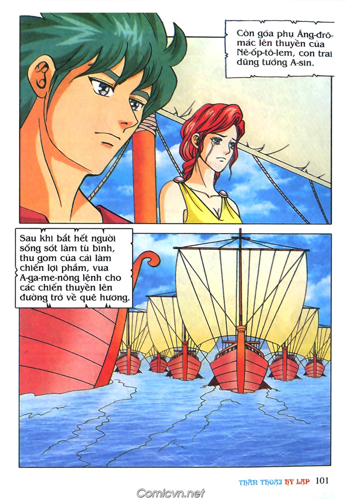Thần Thoại Hy Lạp Màu - Chapter 69: Thành Troy thất thủ - Pic 31