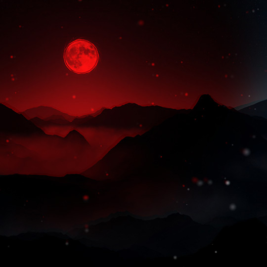 Blood Moon Wallpaper Engine