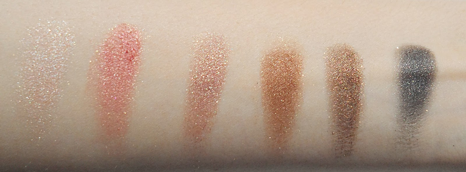 shimmer eyeshadow palette born pretty store review swatches pictures