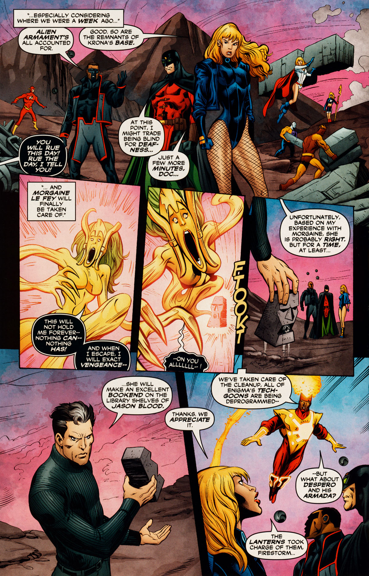 Read online Trinity (2008) comic -  Issue #52 - 14