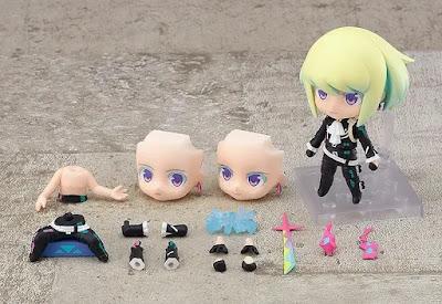 Figuras: Nendoroid Lio Fotia y Lio Fotia: Complete Combustion Ver. de PROMARE - Good Smile Company