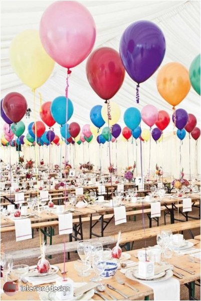 Wedding Decorations With Balloons And Flowers 16