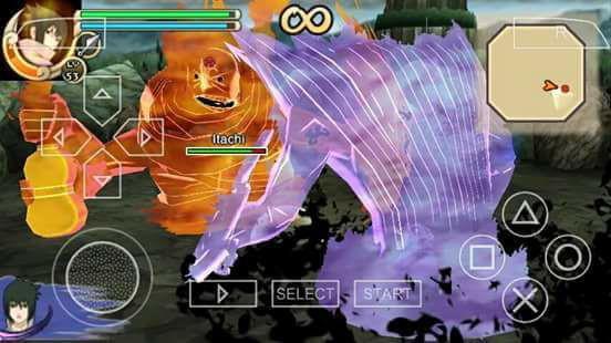 Game Naruto Shippuden – Ultimate Ninja Impact (USA) ISO/CSO