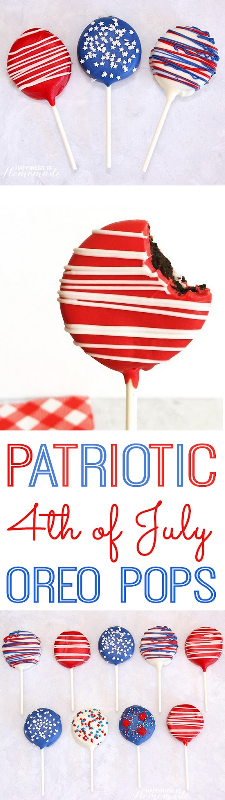 http://www.happinessishomemade.net/2015/06/11/patriotic-oreo-pops-for-4th-of-july/