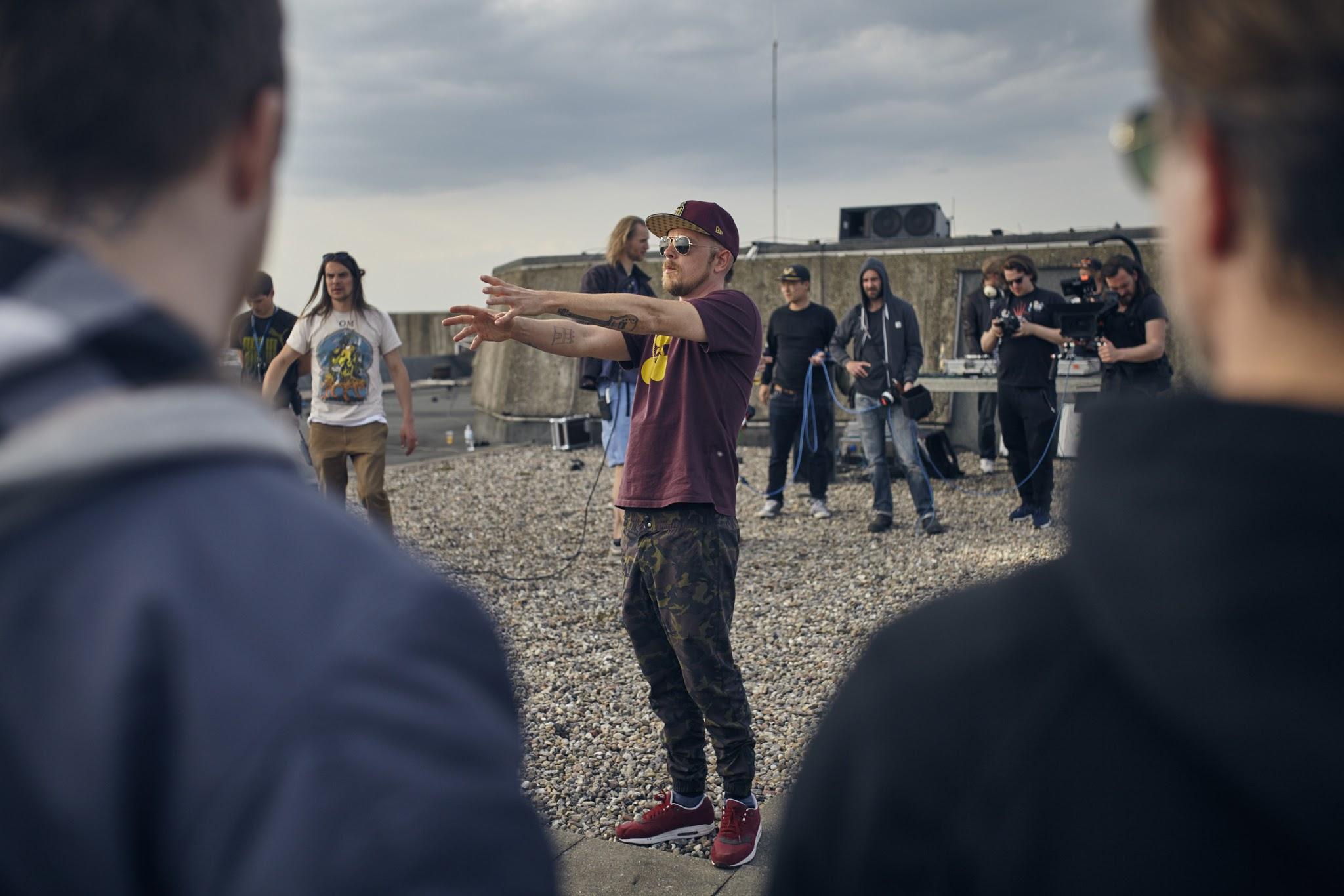 Backstage Fotos zum neuen Beginner Videodreh | HipHop Klassentreffen in Hamburg fotografiert von Martin Sass