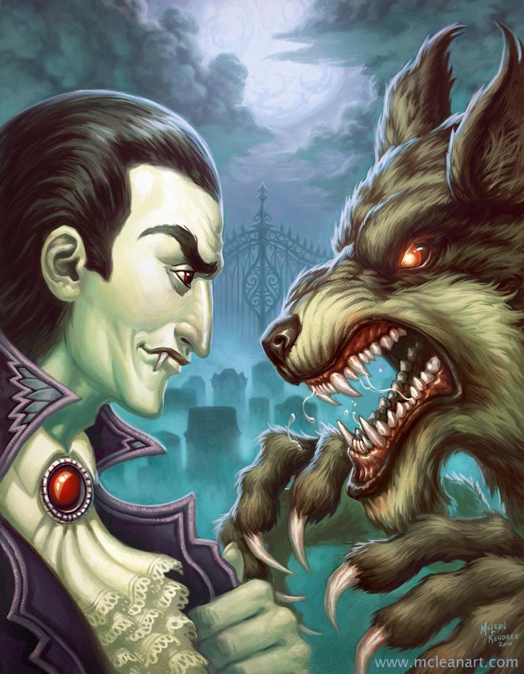 Werewolves V Vampires