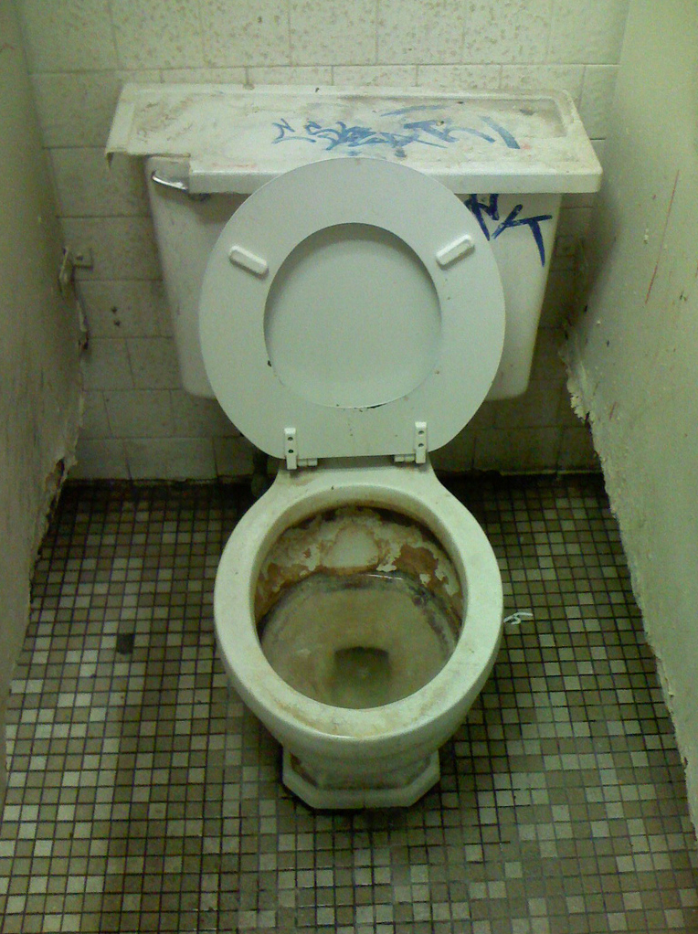 Eye Just Made It Up Ode To A Gas Station Toilet