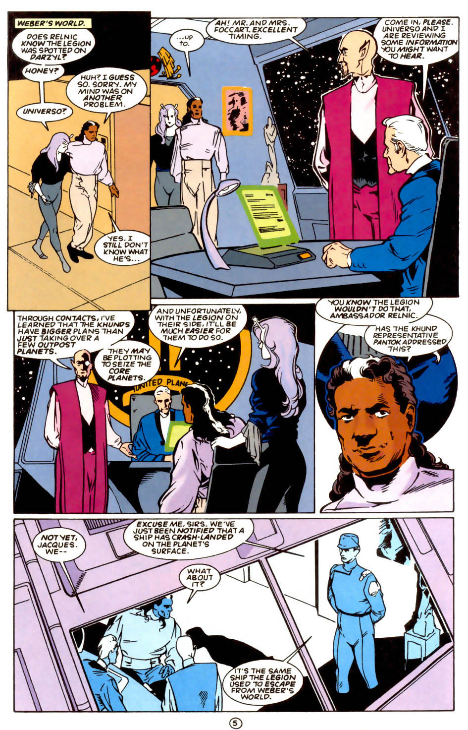 Legion of Super-Heroes (1989) 58 Page 5