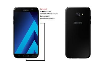 Cara Screenshot Samsung Galaxy A5 (2017)