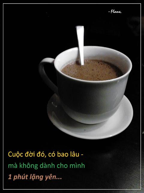 Flame tự truyện – Đi uống café