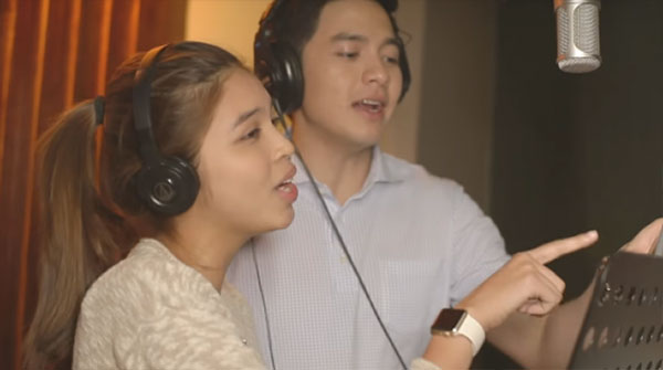 Maine Mendoza Alden Richards Imagine You and Me Lyrics