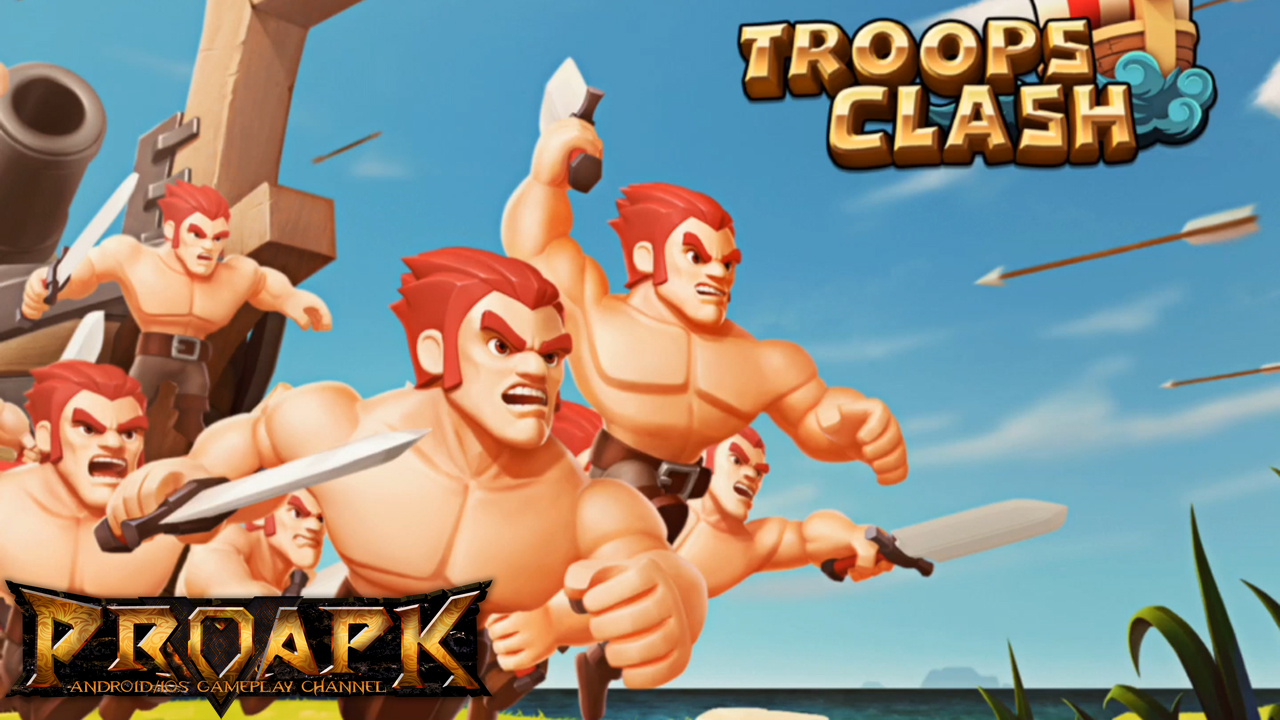 Troops Clash : Battle of War
