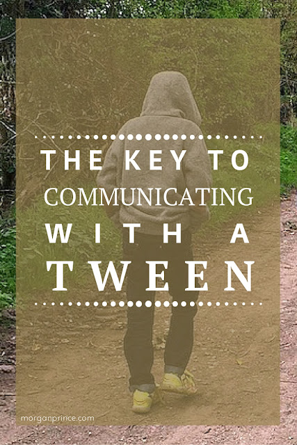 The Key to Communication with a Tween | Morgan's Milieu: A tween is likely to grunt!