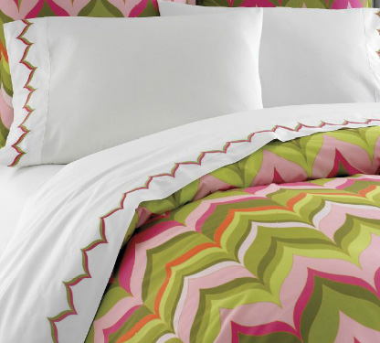Domestic Tery Home Sweet, Nina Campbell Tapestry Bedding