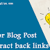 New Brainstorming Ideas for Blog Post that attract backlinks