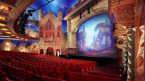 El Teatro Olympia / en el centro de Miami FL