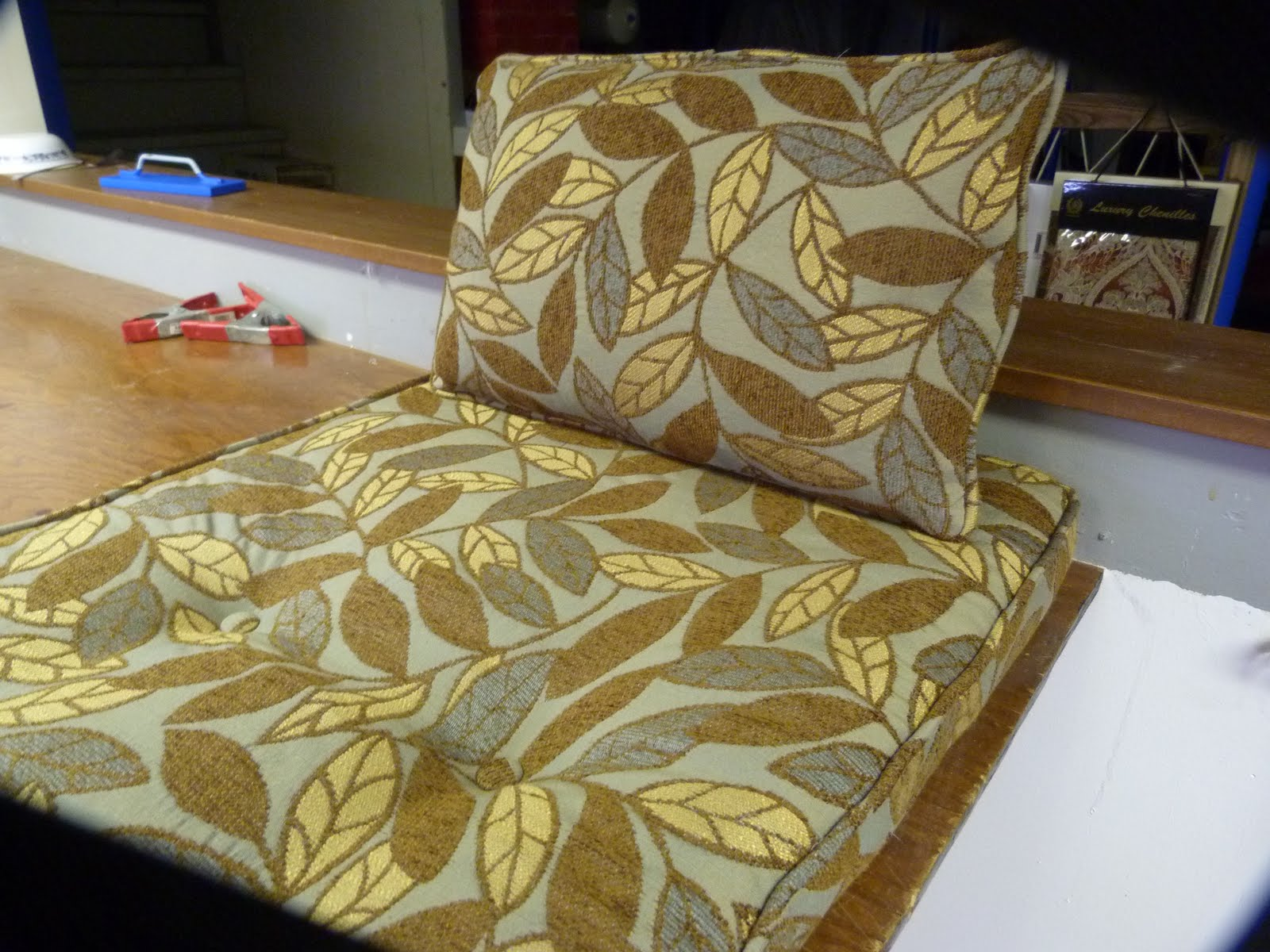 Morris Chair Cushions Practical Upholstery Design Studio Window Cushion And