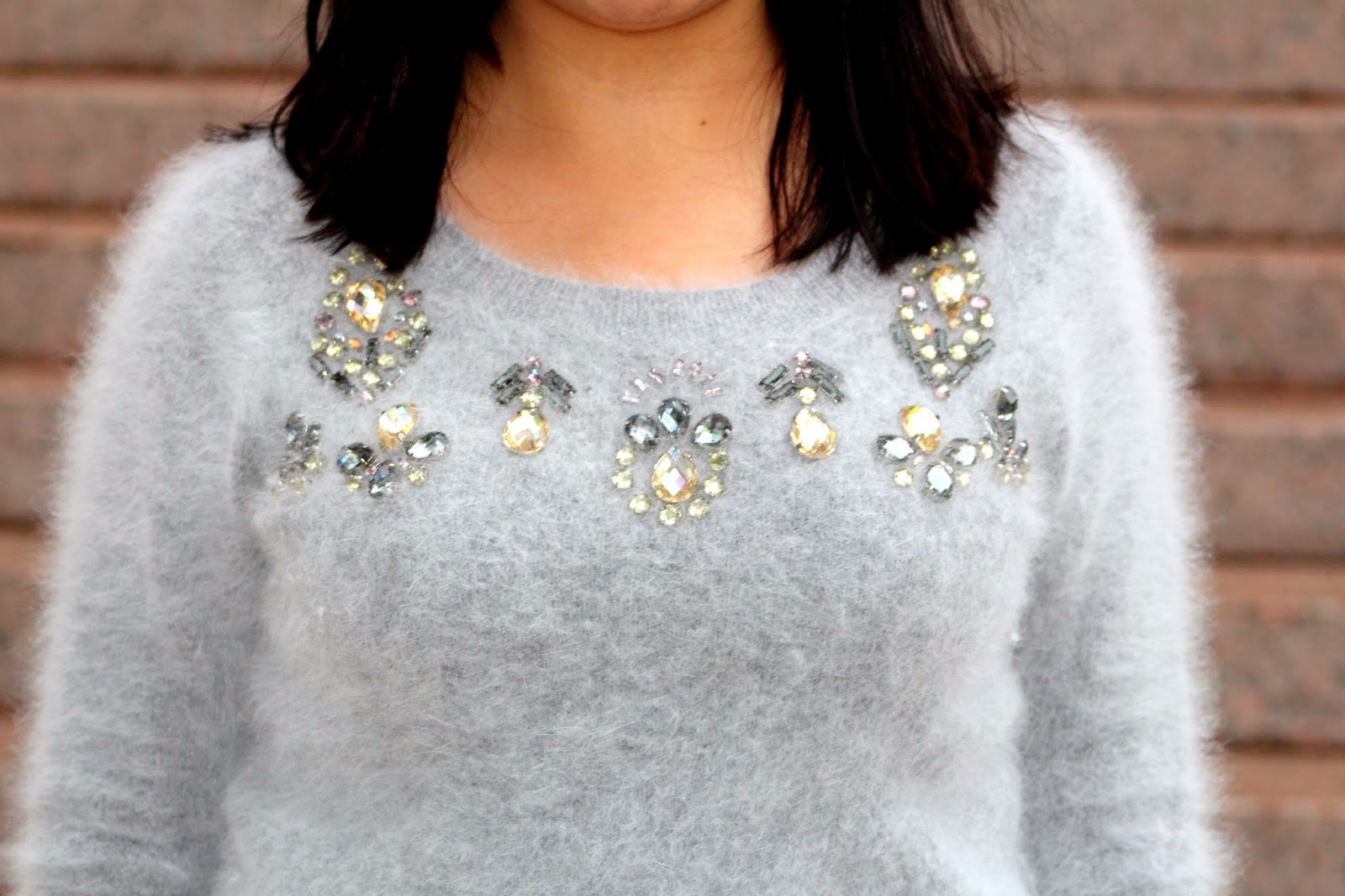 club monaco angora sweater