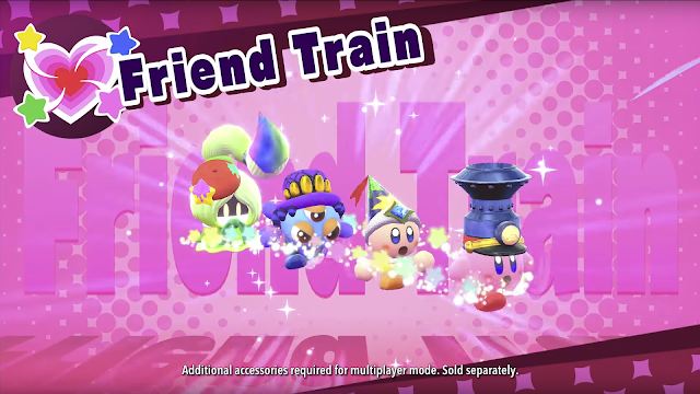Kirby Star Allies Friend Train helpers