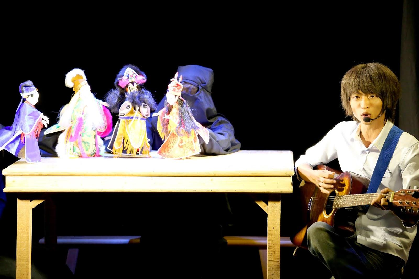 義興閣掌中劇團《超級發明王》、《舞熊打虎》