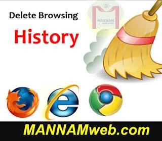 How do I clear my Internet browser history? / స్మార్ట్ ఫోన్ లో బ్రౌజర్ హిస్టరీని క్లియర్ చెయ్యటం ఎలా?