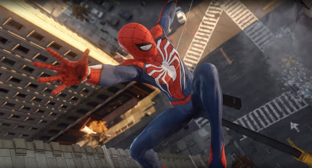 the best games, best games, games, game, SpiderMan, spider man, SpiderMan is the game we need now, Playstation, best games of the year, Playing SpiderMan on the PlayStation 4, PlayStation 4,