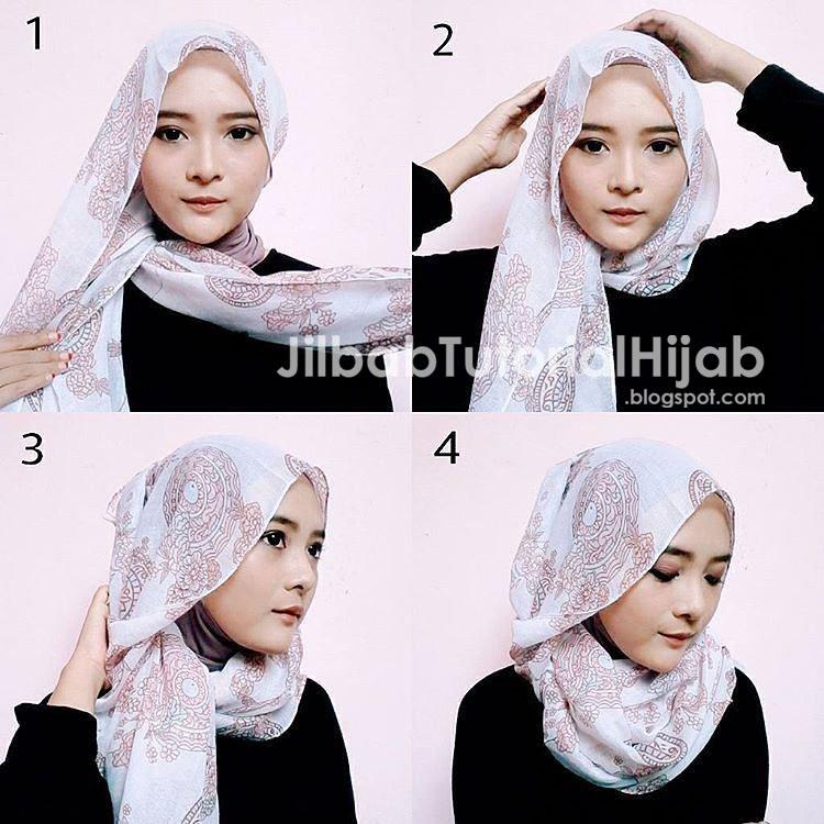 Tutorial Hijab Dengan Anting Hijabfest