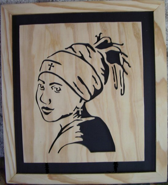 Wood Artz Products Scroll Saw Art