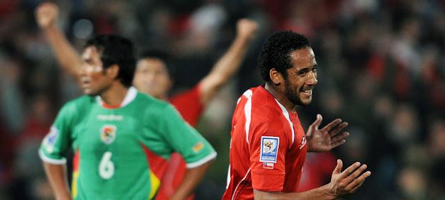 Chile y Bolivia en Clasificatorias a Sudáfrica 2010, 10 de junio de 2009