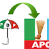 Over 500 Abia State PDP members defects to APC