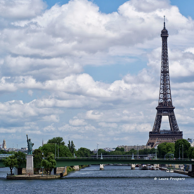 Statue de la Liberté à Paris - Oeuvre de Frédéric Auguste Bartholdi © Laura Prospero