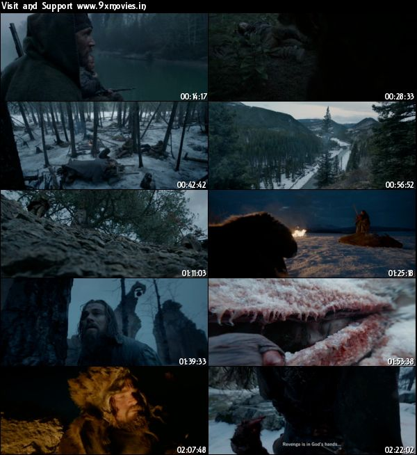 The Revenant 2015 English DVDScr 999MB