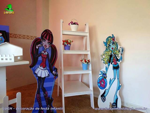 Decoração de festa Monster High - Aniversário feminino