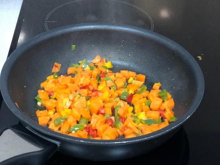 Pastelitos de zanahoria y trigueros