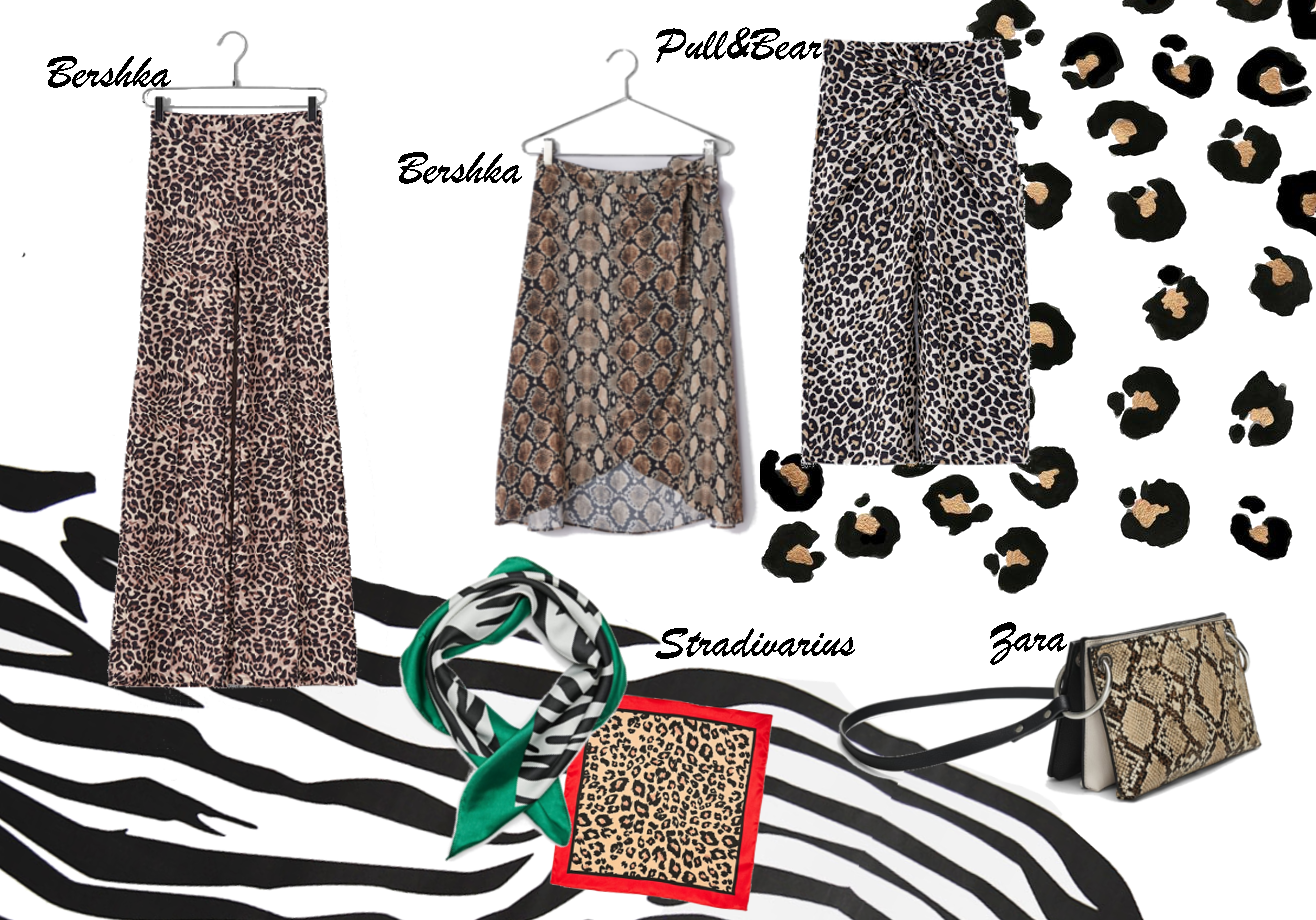 some animal print pieces you can find at the stores