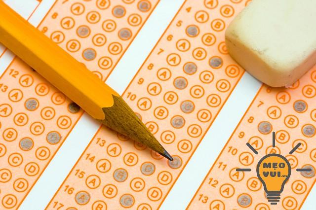 Hãy làm hết tất cả các câu hỏi trong đề thi trắc nghiệm