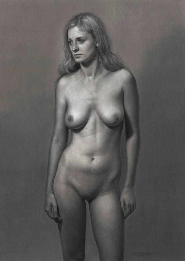 Реалистичные рисунки карандашом. Dirk Dzimirsky 11