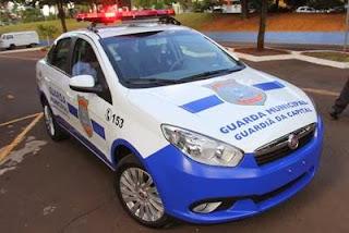 Motorista embriagado é preso após bater em carro de Guarda Municipal de Campo Grande (MS)