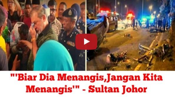 """[VIDEO] 8 Remaja MAUT """"'Biar Dia Menangis, Jangan Kita Menangis'"""" - TITAH BAGINDA Sultan Johor"""