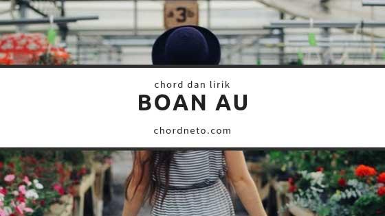 Chord Boan Au