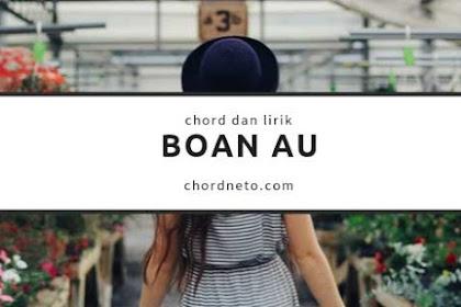 Chord Boan Au - Marsada Band (C)