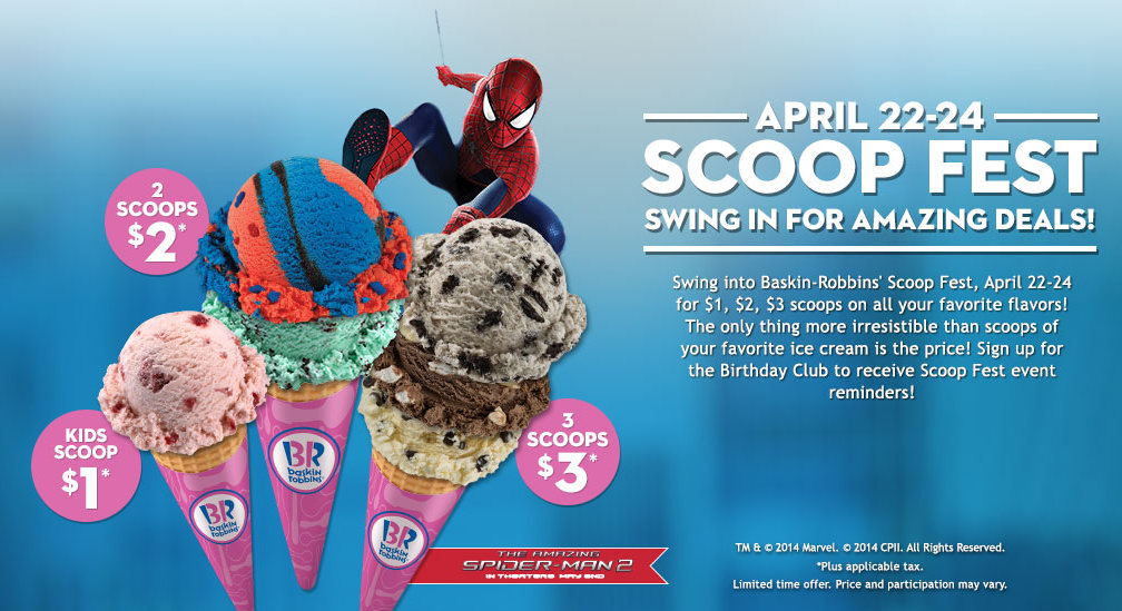 Ice Cream Cake Promotion