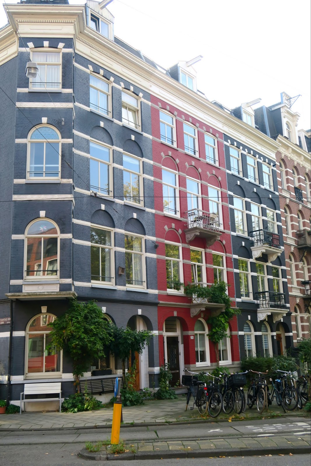 Amsterdam colourful buildings