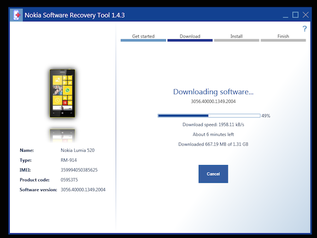 lumia software recovery tool 5.0.0.18 для windows xp