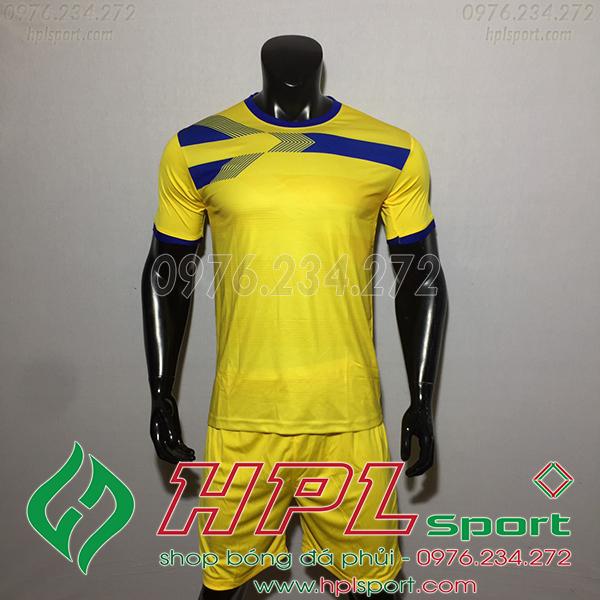 Áo bóng đá không logo F50 Adi màu vàng