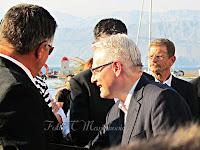 Ivo Josipović u Postira otok Brač slike