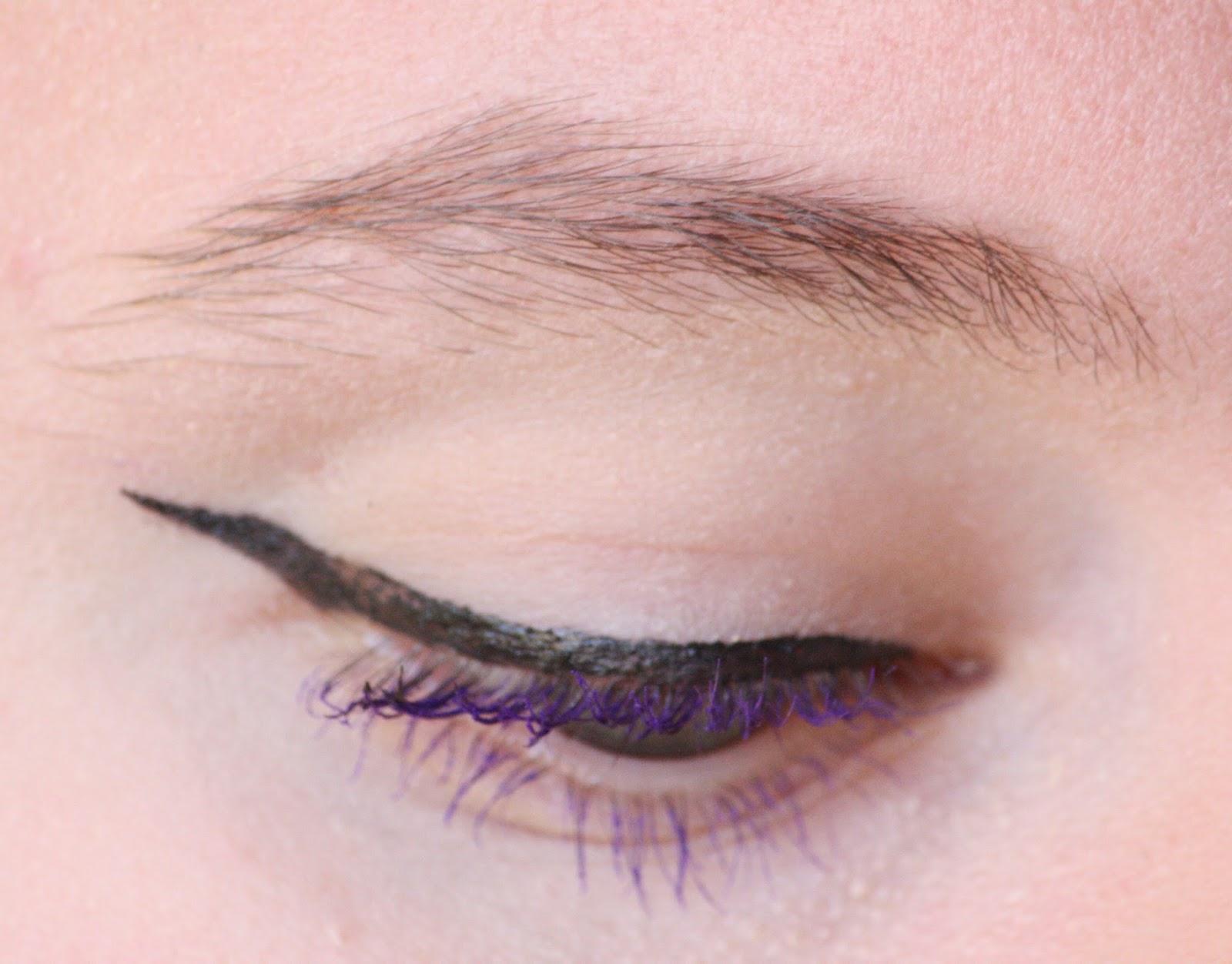 Die Zauberin Zebulon: Dark Brown Shiny Liner Eye MakeUp +